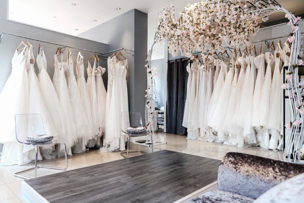 photograph showing the interior of This Is Me Bridal wedding dresses southport