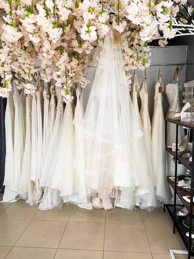 bridal wedding veil